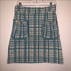 Anthropologie Girls From Savoy Lane Change Skirt